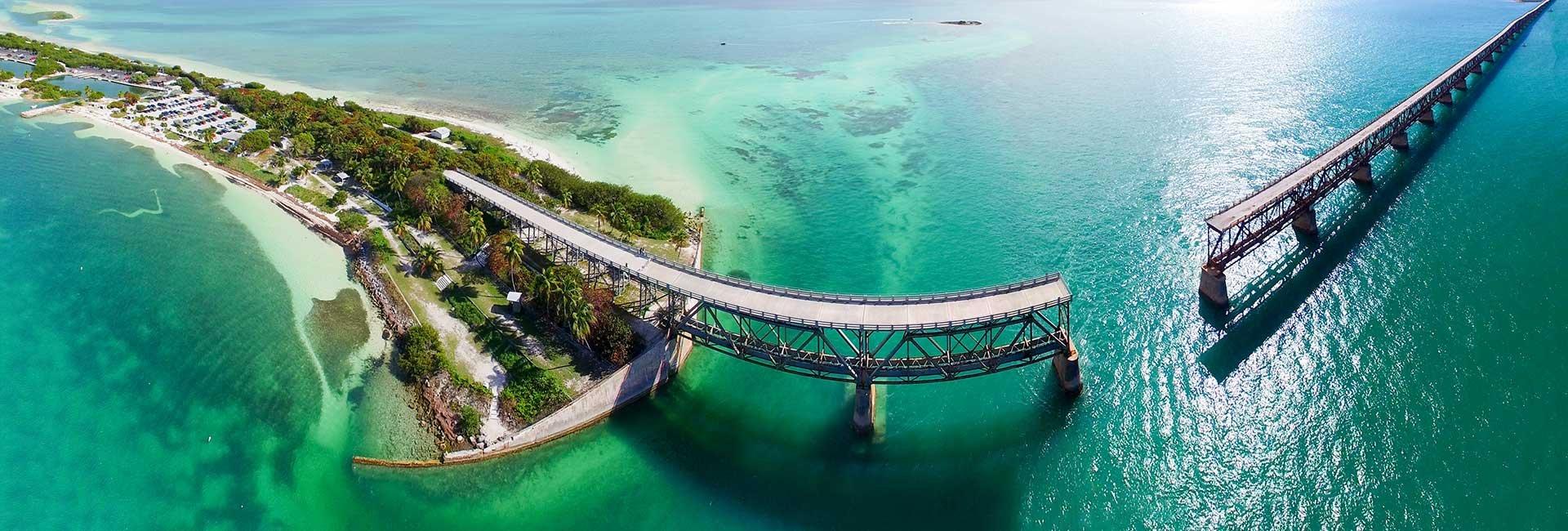 unfinished bridge in Key West