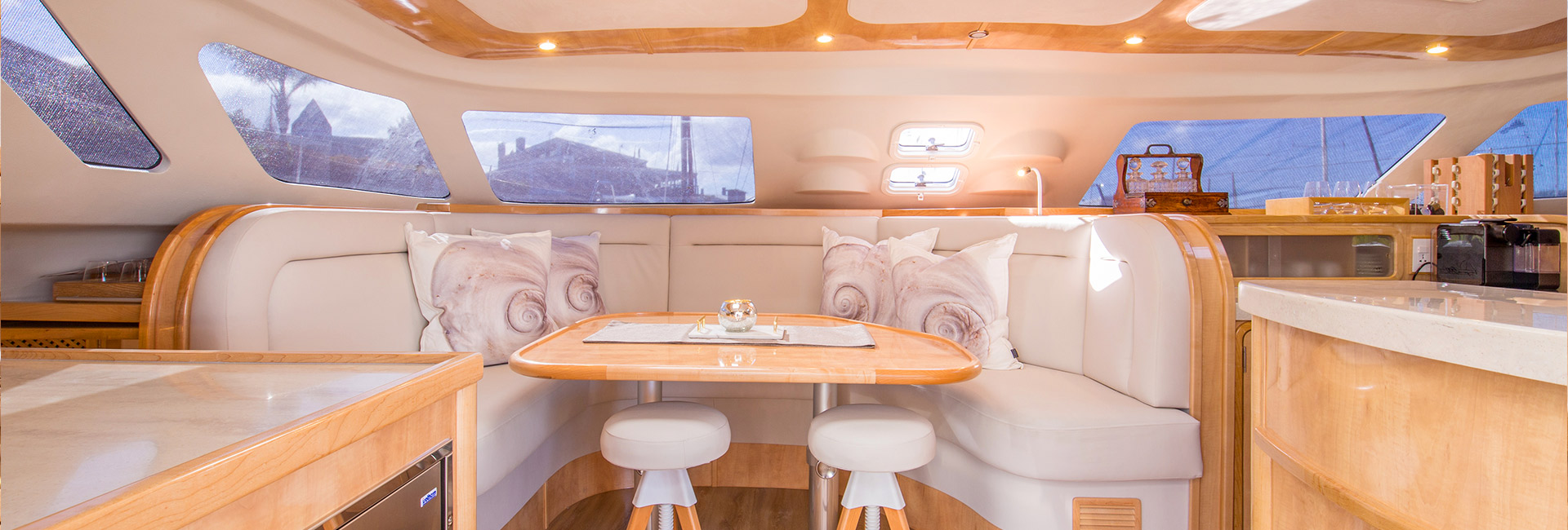 custom yacht interior