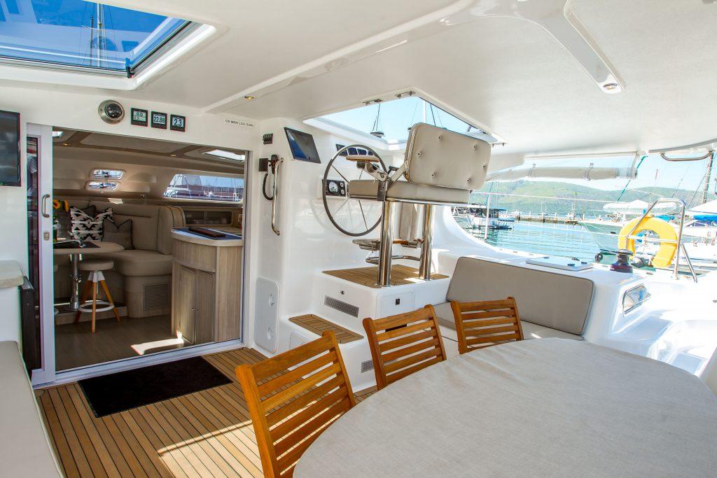 Onboard the knysna 500SE