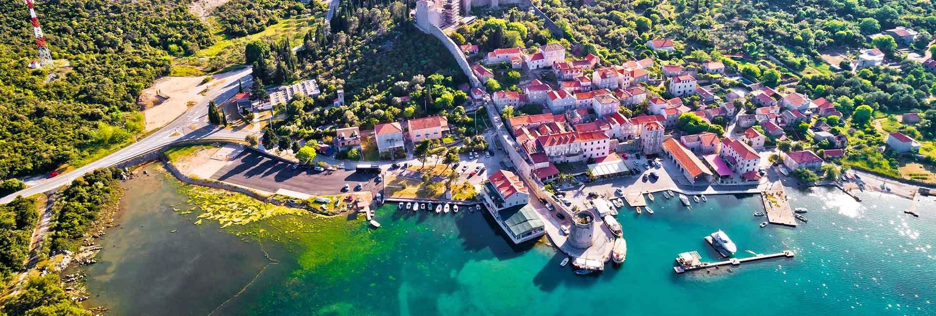 Adriatic sailing town