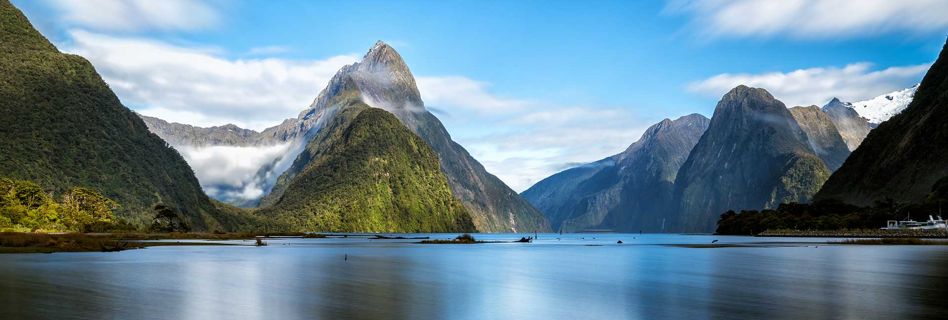 South Pacific Mountains sailing destinations