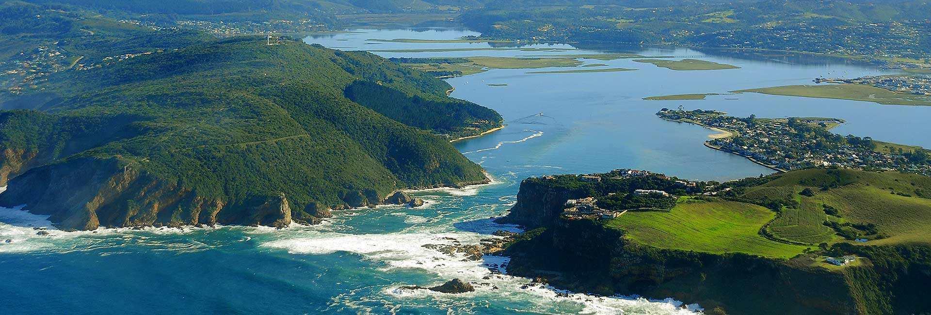 Knysna heads in South Africa