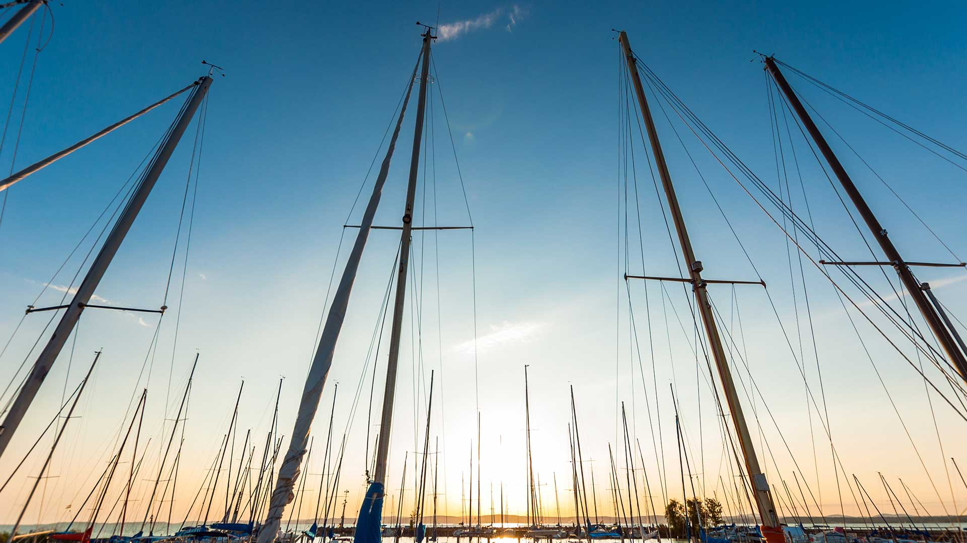 Yacht poles